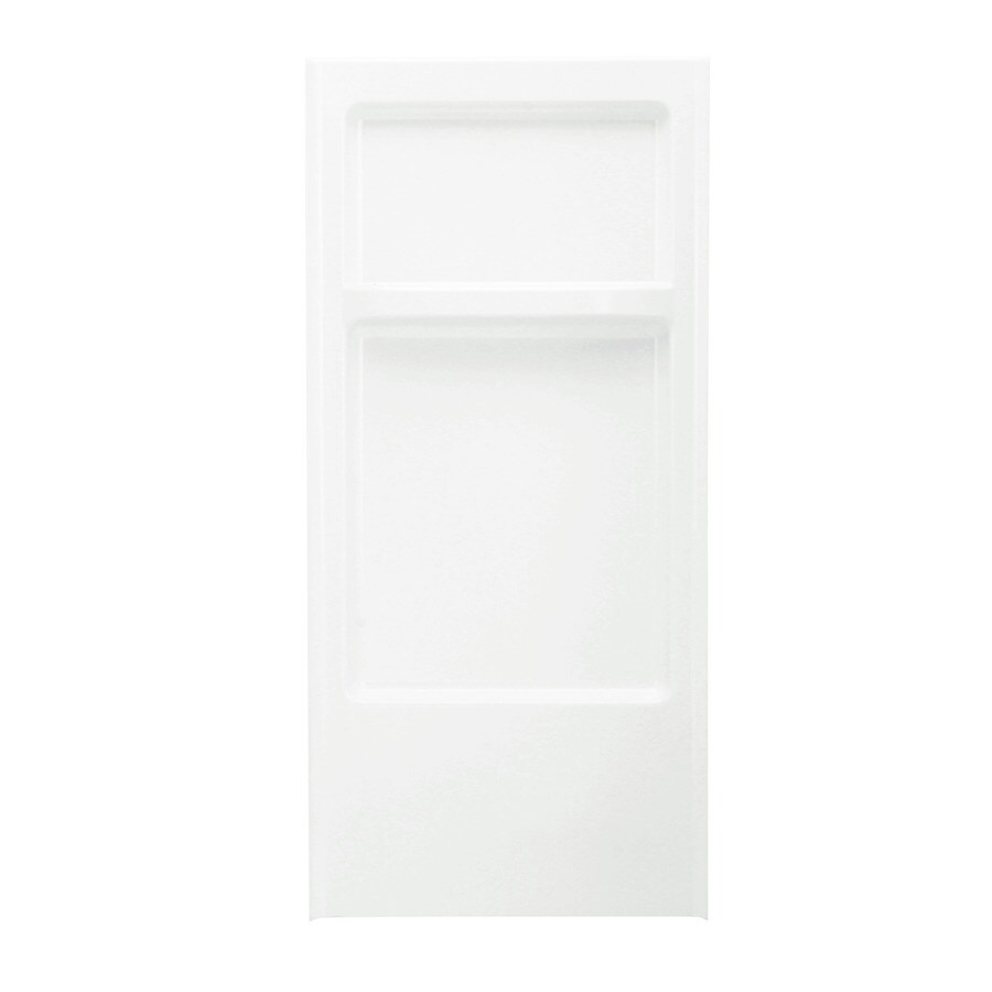 Sterling Advantage White Shower Wall Surround Back Panel (Common: 0.25-in; Actual: 66.25-in x 0.25-in)