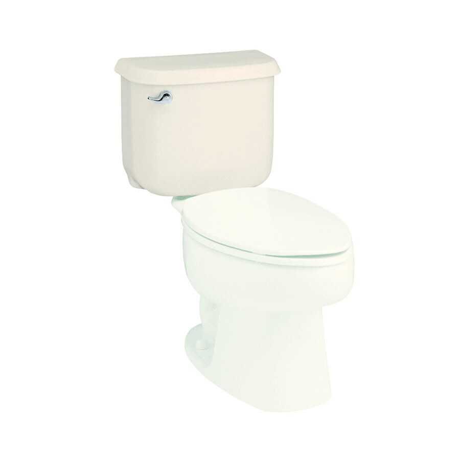 Sterling Windham Biscuit 1.6-GPF (6.06-LPF) 12-in Rough-In Single-Flush Toilet Tank