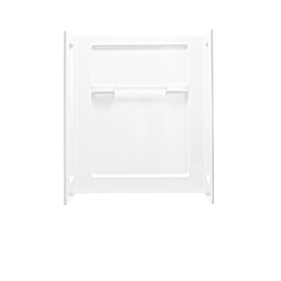 Sterling Shower Wall Surround Corner Wall Panel (Common: 36-in; Actual: 55.25-in x 35.25-in)