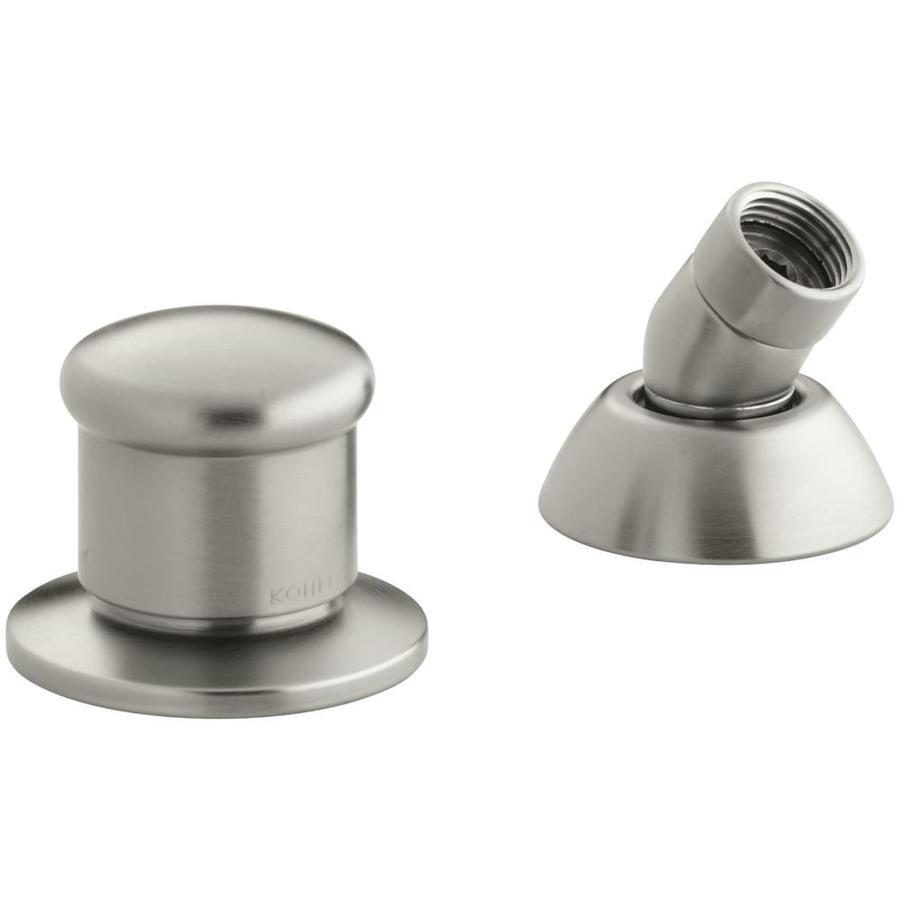 KOHLER Vibrant Brushed Nickel Shower Holder with Hose