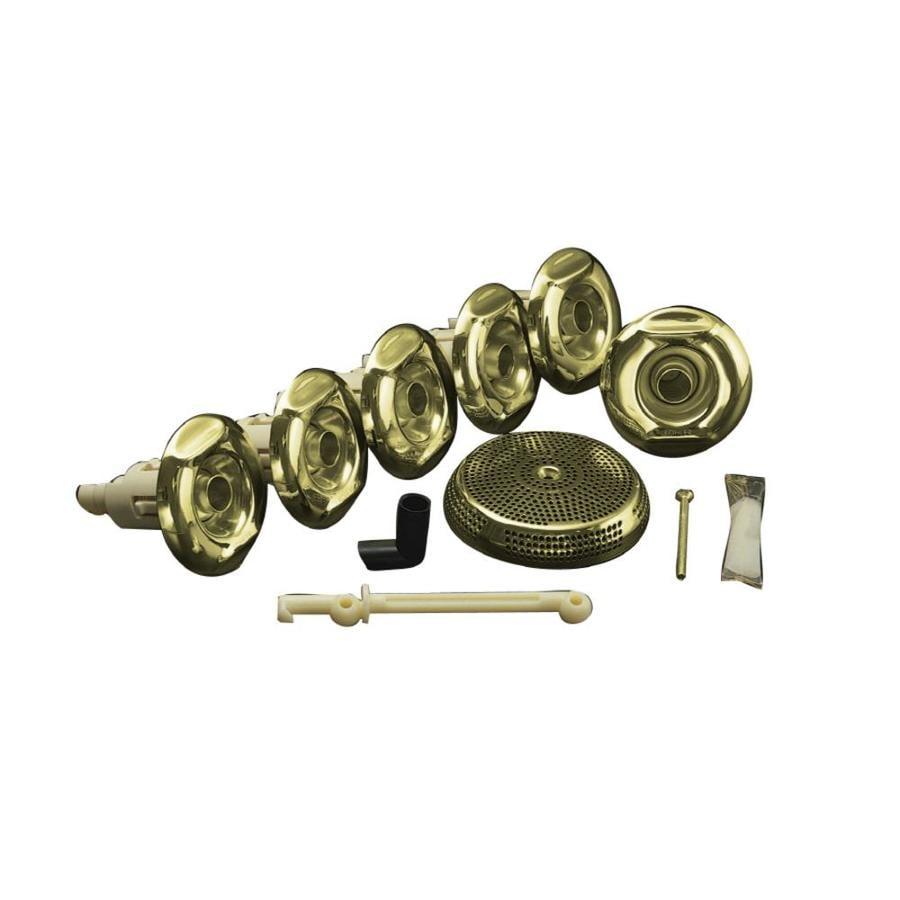 KOHLER Flexjet Whirlpool Trim Kit, Vibrant French Gold