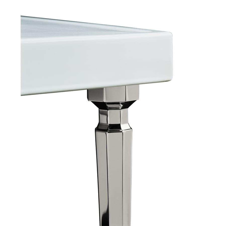 Shop Kohler Vibrant Polished Nickel Bathroom Vanity Legs At
