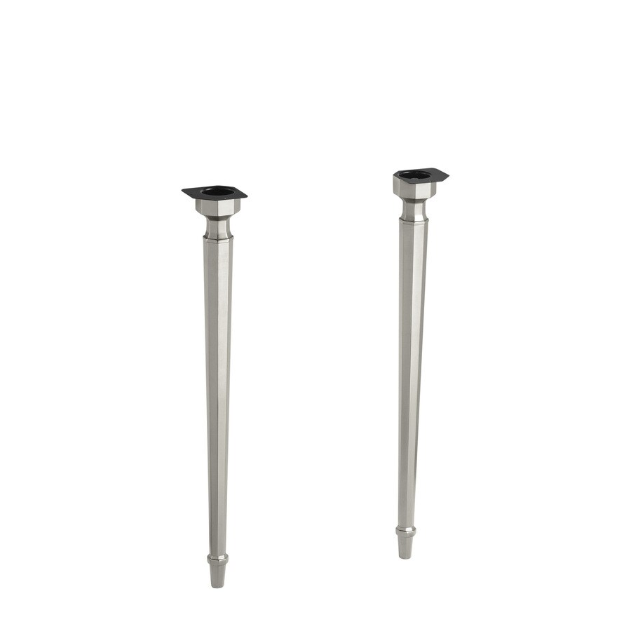 Shop kohler metal coffee table leg at for Table legs lowes