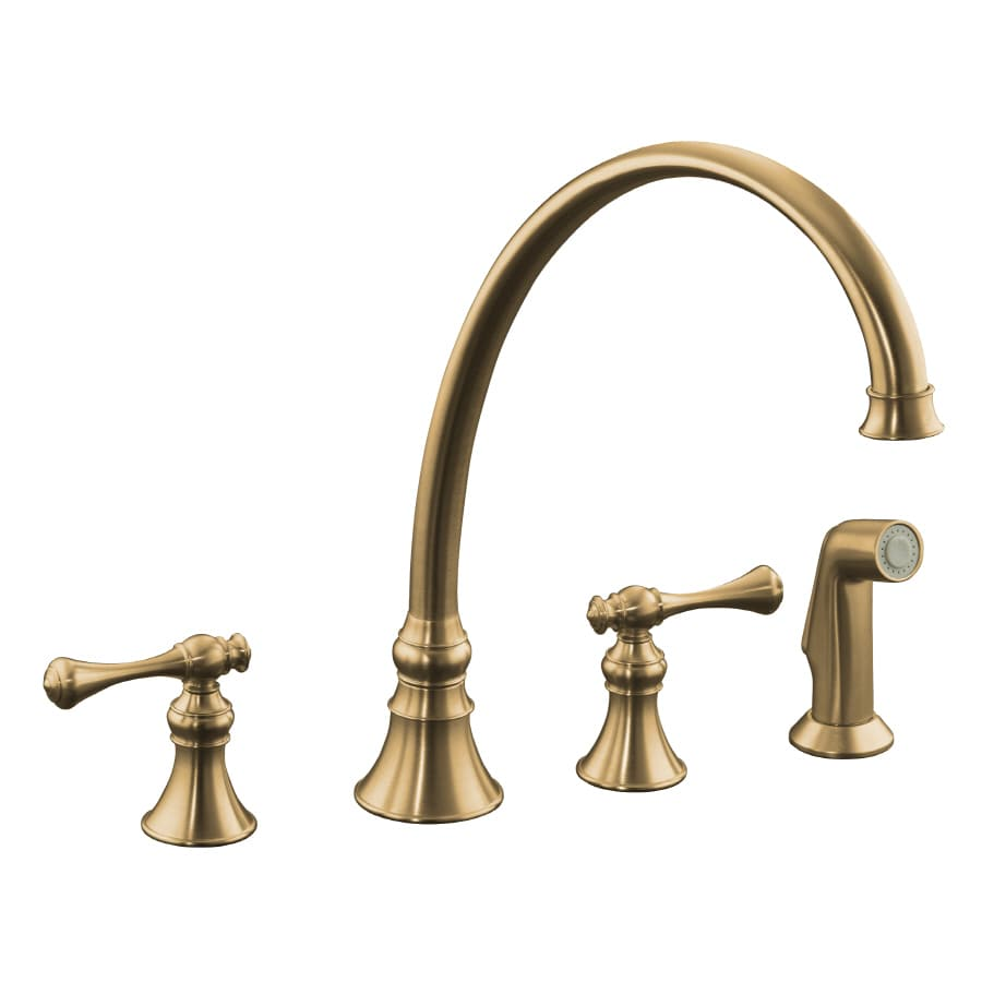 Shop Kohler Revival Vibrant Brushed Bronze 2 Handle High