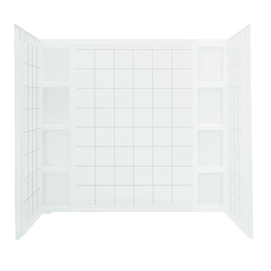 Sterling Ensemble Vikrell Bathtub Wall Surround (Common: 42-in x 60-in; Actual: 54.25-in x 43.5-in x 60-in)