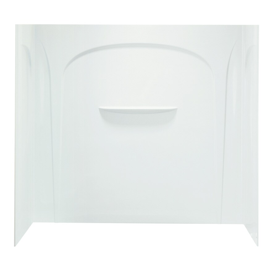 Sterling Acclaim Fiberglass and Plastic Composite Bathtub Wall Surround (Common: 30-in x 60-in; Actual: 54.5-in x 31.5-in x 60-in)