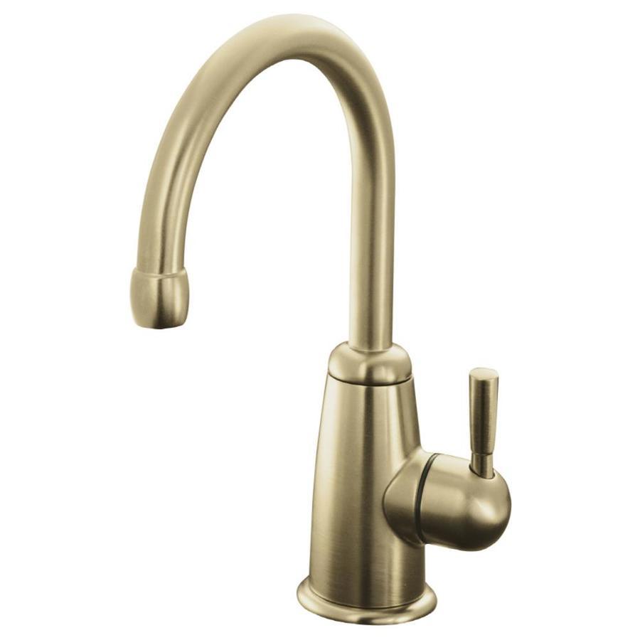 KOHLER Wellspring Bronze 1-Handle Bar and Prep Faucet