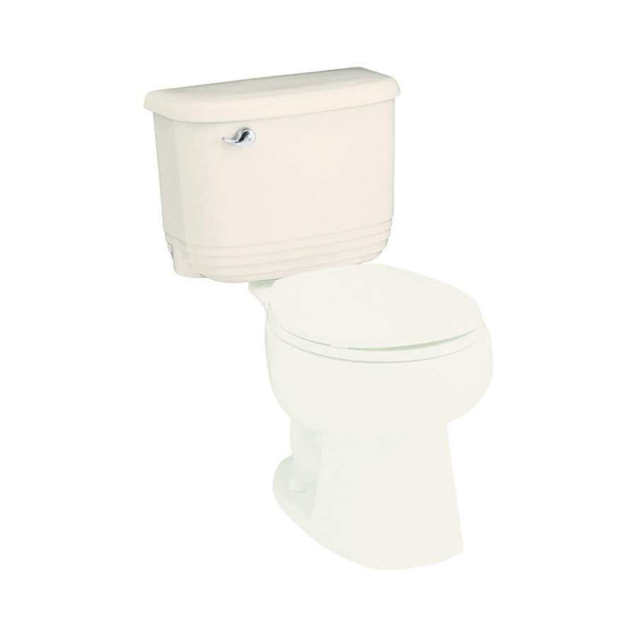 Sterling Riverton Biscuit 1.6-GPF (6.06-LPF) 12-in Rough-In Single-Flush Toilet Tank