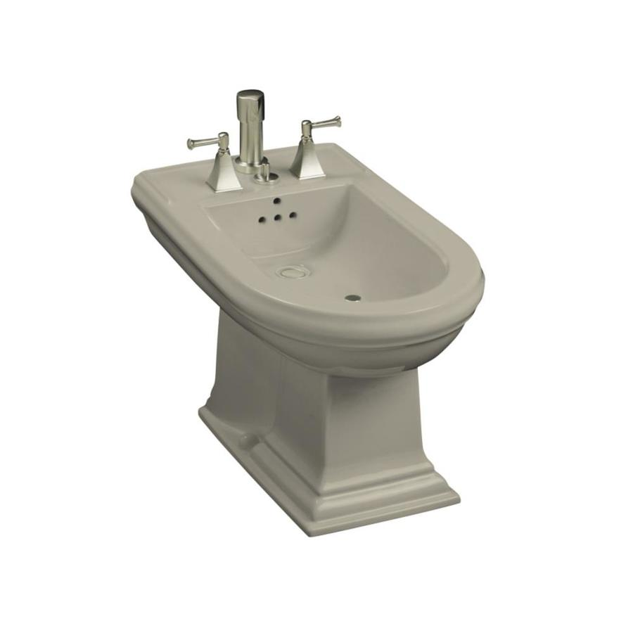KOHLER Memoirs 15-in H Sandbar Elongated Bidet