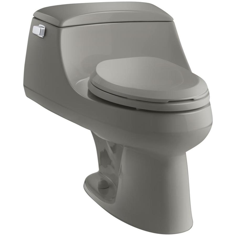 KOHLER San Raphael Cashmere 1.6-GPF (6.06-LPF) 12-in Rough-In Elongated 1-Piece Standard Height Toilet