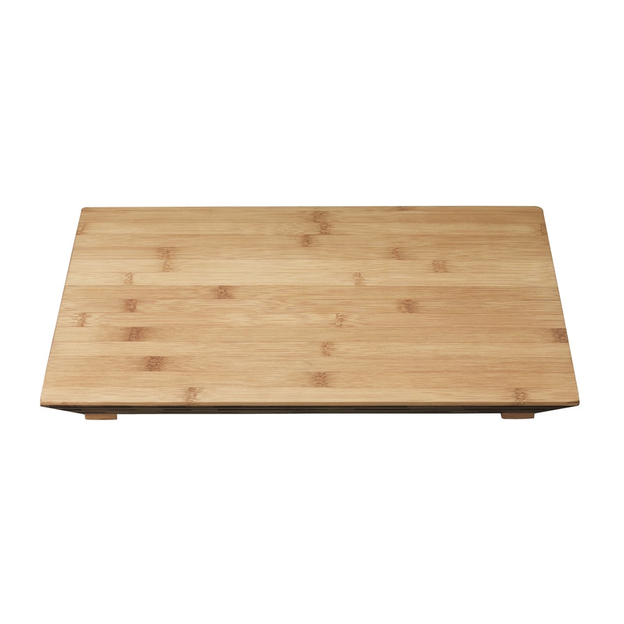 KOHLER 12-in L x 16.187-in W Bamboo Cutting Board