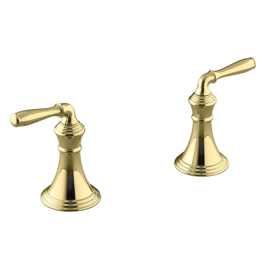 KOHLER 2-Pack Gold Tub/Shower Handles