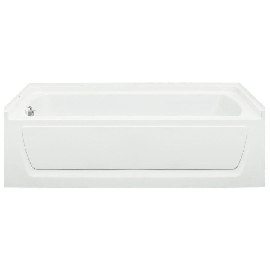 Sterling Ensemble White Vikrell Rectangular Whirlpool Tub (Common: 32-in x 60-in; Actual: 18-in x 32-in x 60-in)