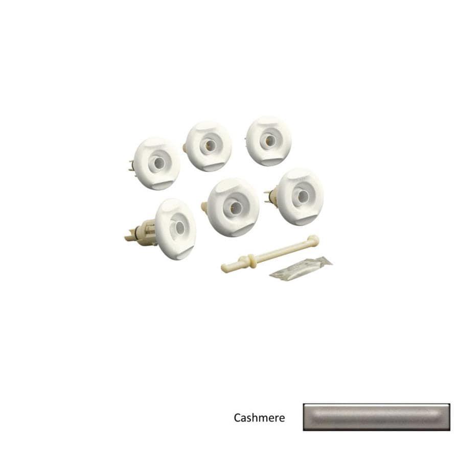 KOHLER Flexjet Cashmere Whirlpool Trim Kit