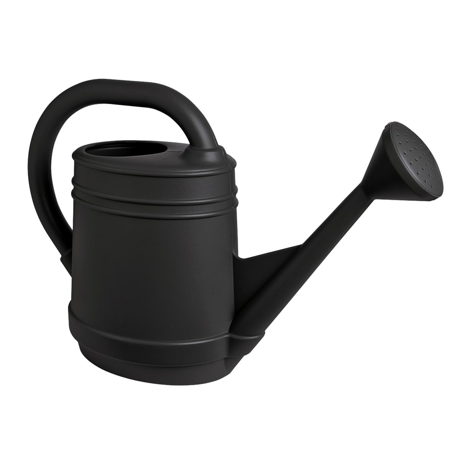 Shop Fiskars 2 Gallon Slate Plastic Watering Can At