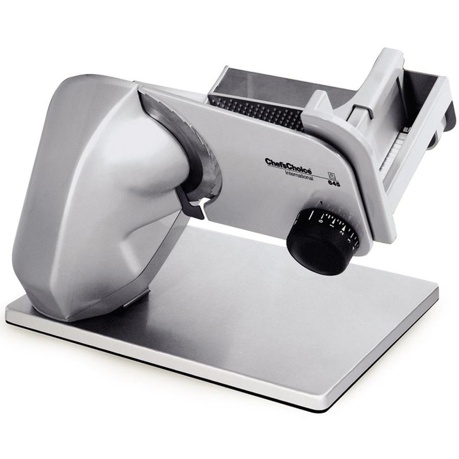 Chef'sChoice 1-Speed Gray Food Slicer