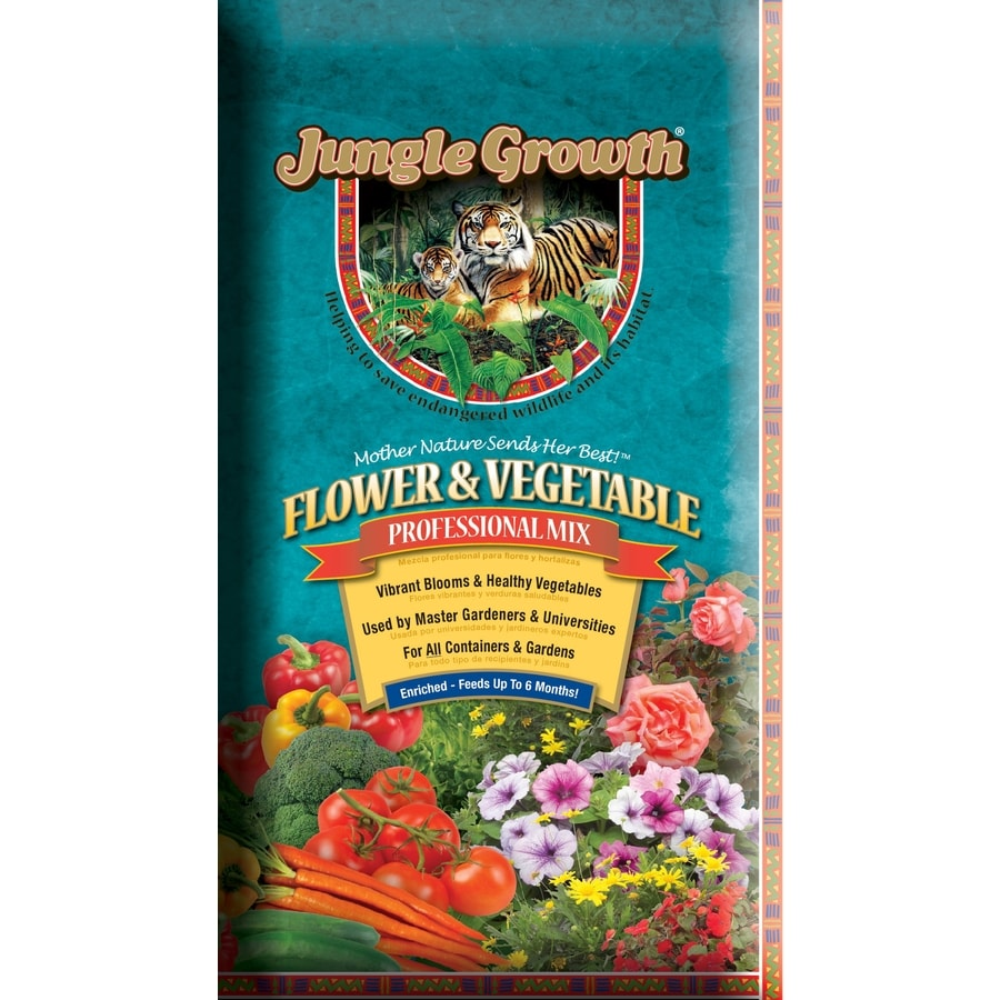 Jungle Growth 2-cu ft Flower and Vegetable Garden Soil