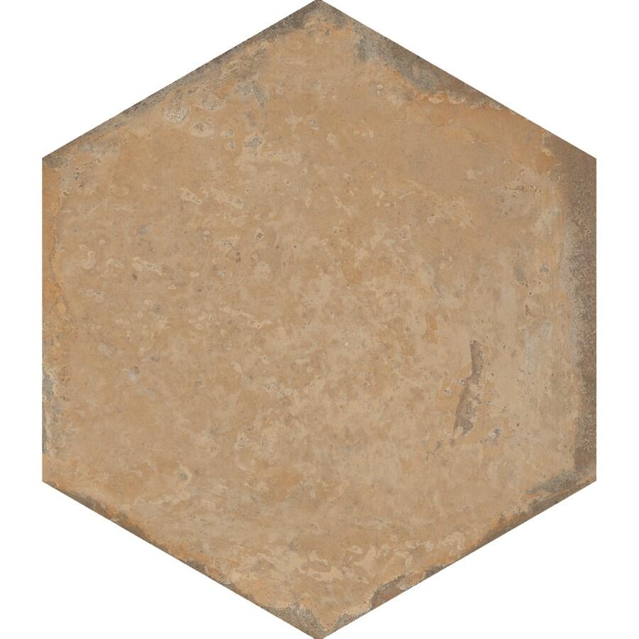 FLOORS 2000 Bridgeport 8-Pack Autumn Porcelain Floor and Wall Tile (Common: 17-in x 17-in; Actual: 17.75-in x 15.25-in)