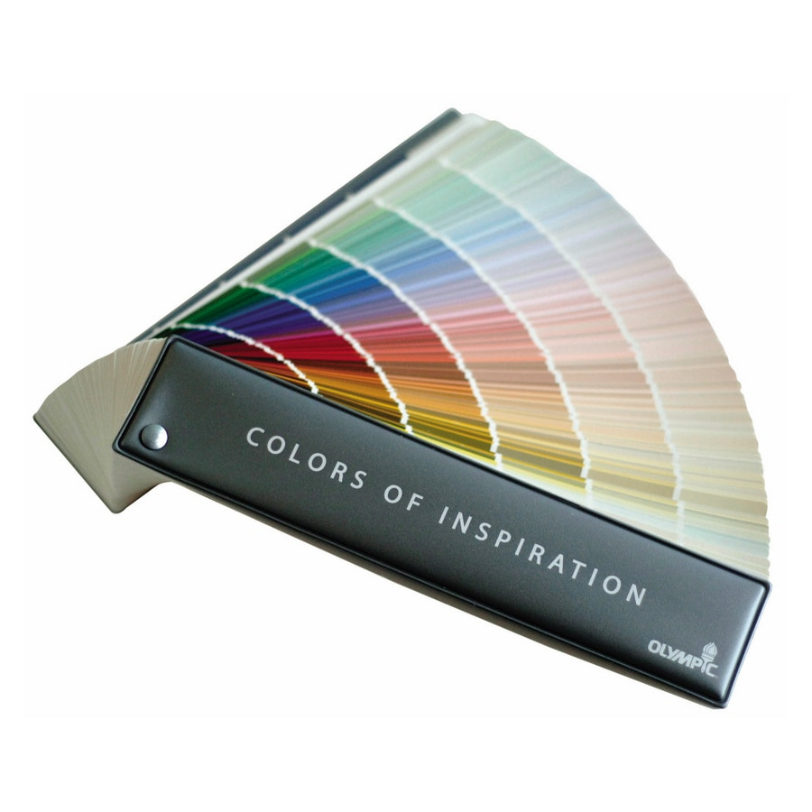 Olympic 1224-Color Paint Fan Deck