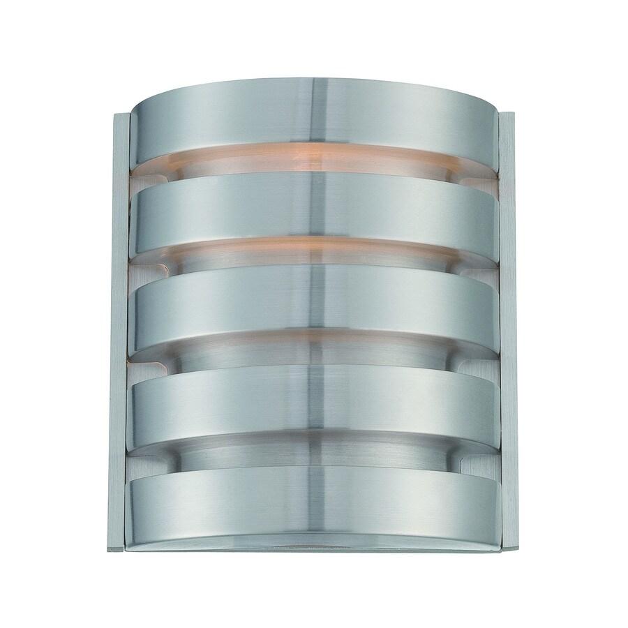 Lite Source Macrae 7.5-in W 1-Light Aluminum Pocket Wall Sconce
