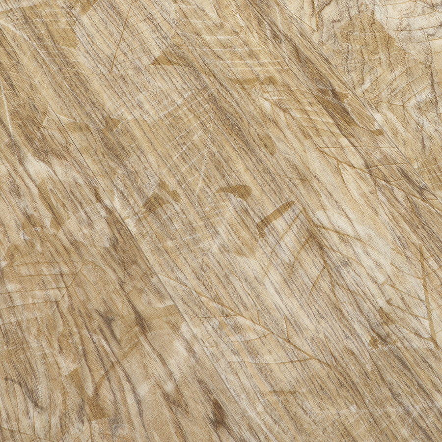 Congoleum Structure 12-Piece 9-in x 48-in Blonde Peel-and-Stick Hickory Luxury Commercial/Residential Vinyl Plank