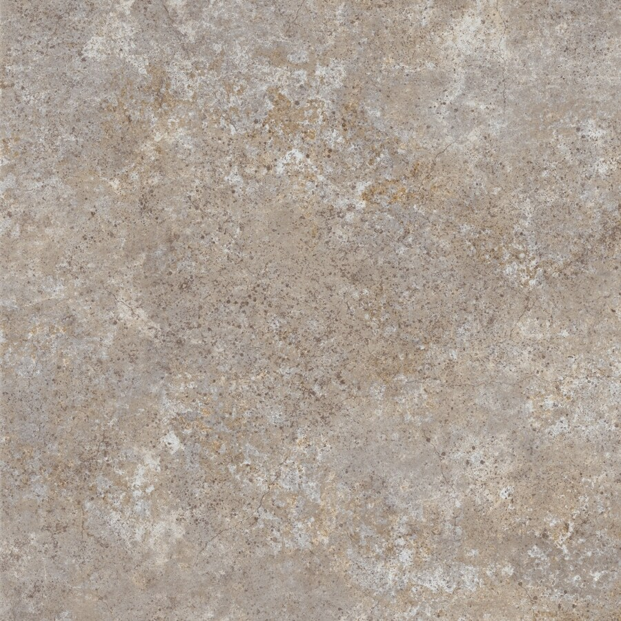 Congoleum Stoneybrook 10-Piece 16-in x 16-in Groutable Gray Morn Glue (Adhesive) Stone Luxury Residential Vinyl Tile