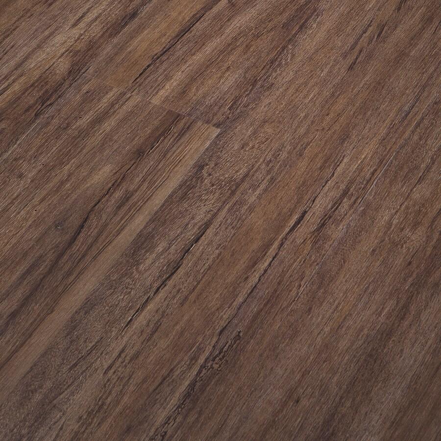 Congoleum Impact SmartLock 16-Piece 7-in x 47.75-in Brownie Floating Oak Luxury Residential Vinyl Plank