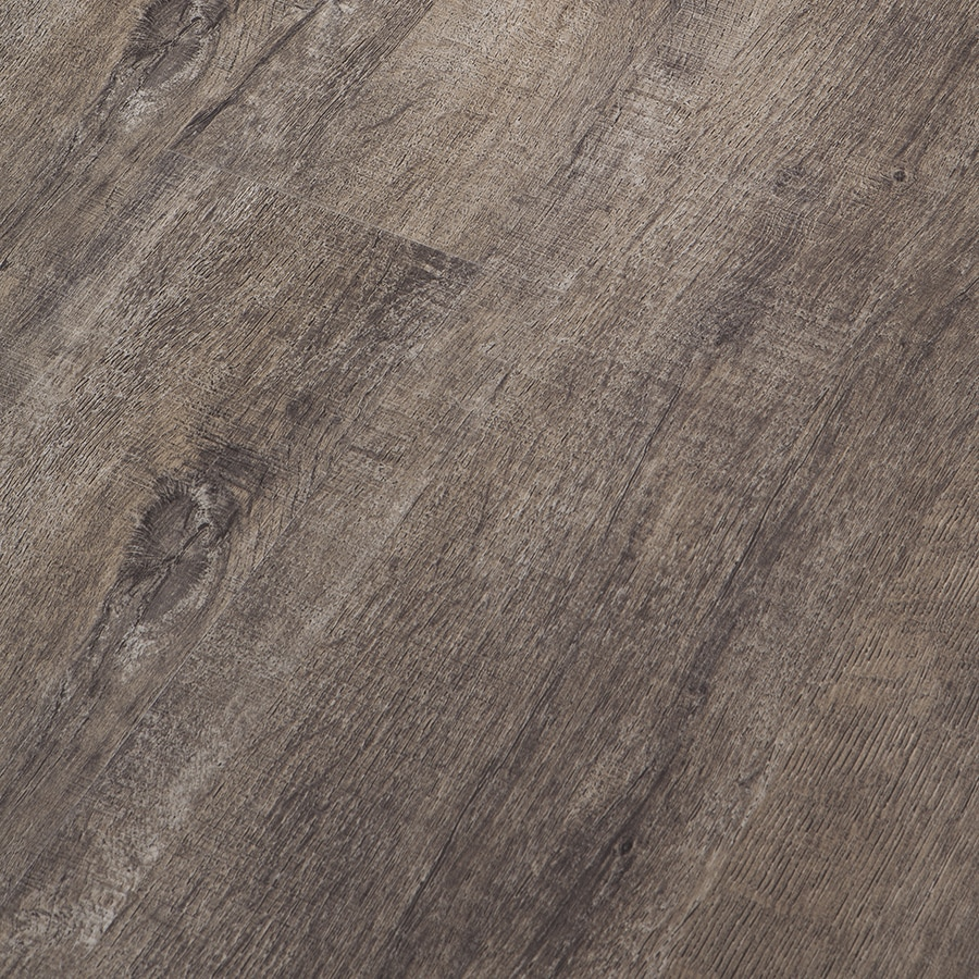 Congoleum Impact SmartLock 16-Piece 7-in x 47.75-in Silver Brush Floating Rustic Luxury Residential Vinyl Plank