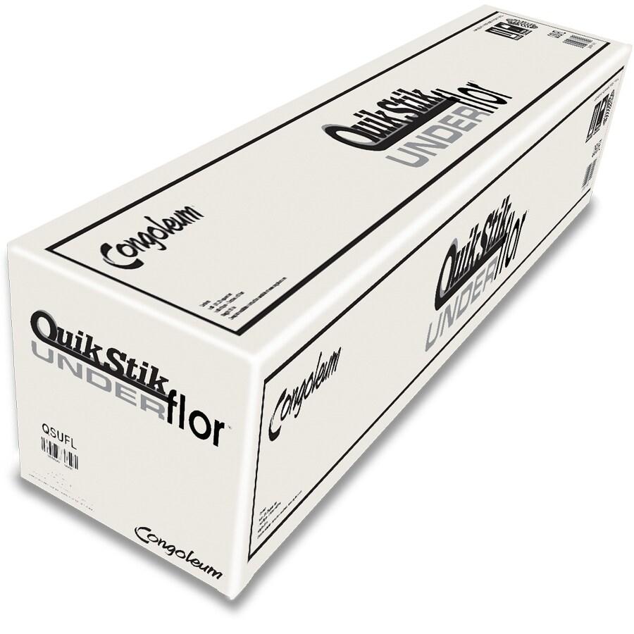Congoleum QuikStik Underflor 281.25-sq ft Standard 28mils Flooring Underlayment