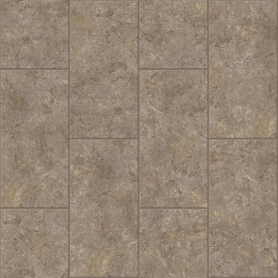 Congoleum LVT 10-Piece 12-in x 24-in Groutable Beige Wash Glue (Adhesive) Granite Luxury Vinyl Tile