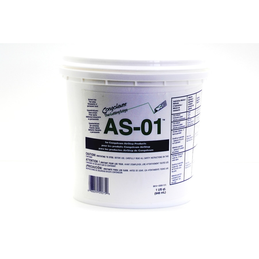 Congoleum 1-Quart Trowel Sheet Vinyl Adhesive