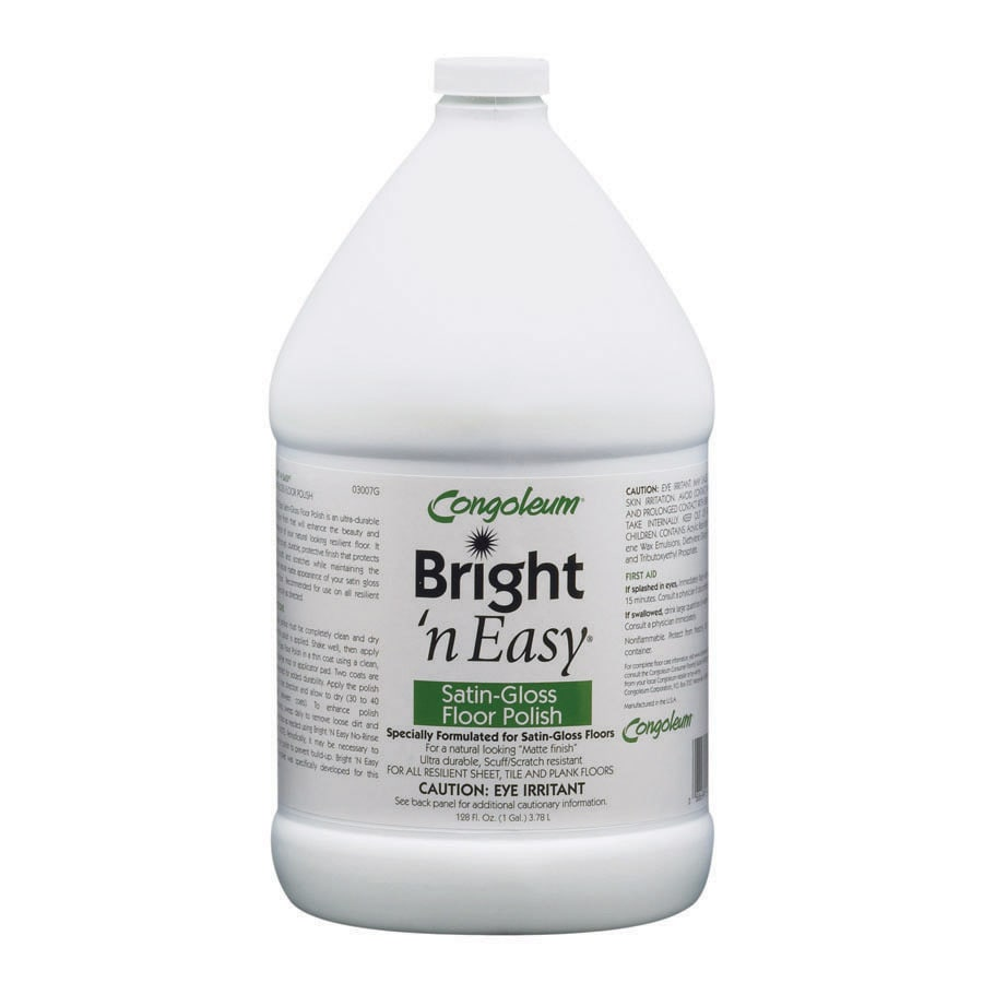 Congoleum Bright N Easy Satin Gloss Floor Polish