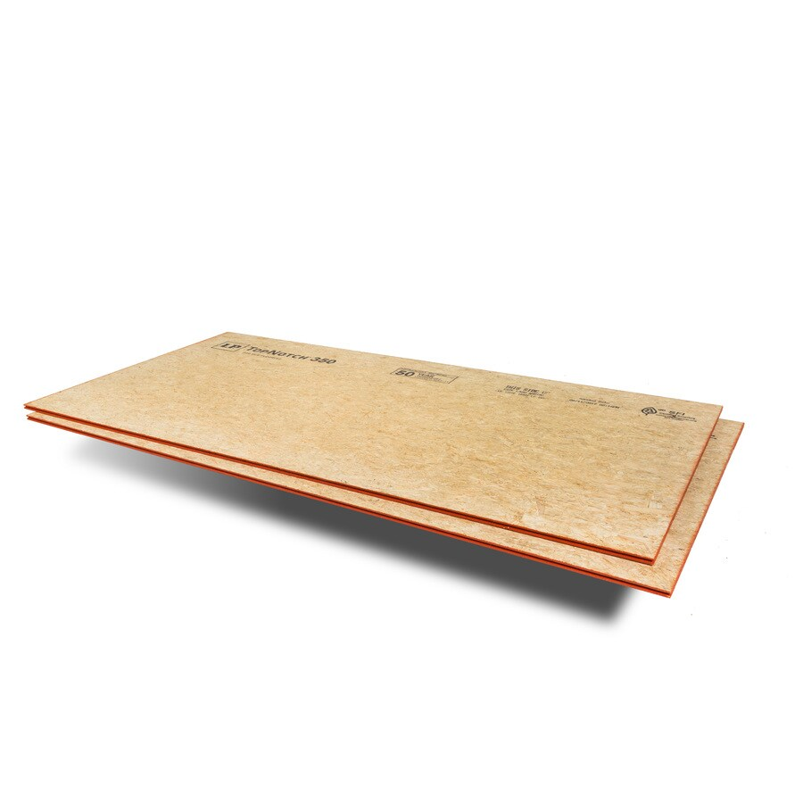 23/32 CAT PS2-10 Tongue and Groove OSB Subfloor, Application as 4 x 8
