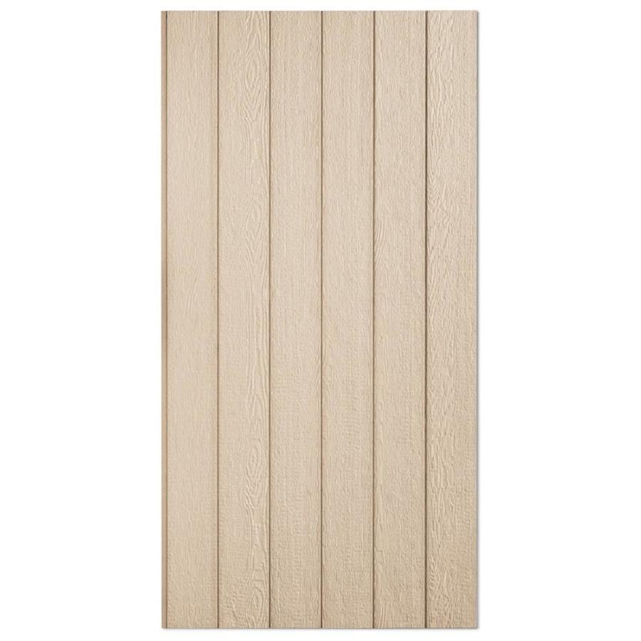 Snavely Forest Products 38 Series Primed Engineered Treated Wood Siding Panel (Common: 0.375-in x 48-in x 108-in; Actual: 0.315-in x 48.563-in x 107.875-in)