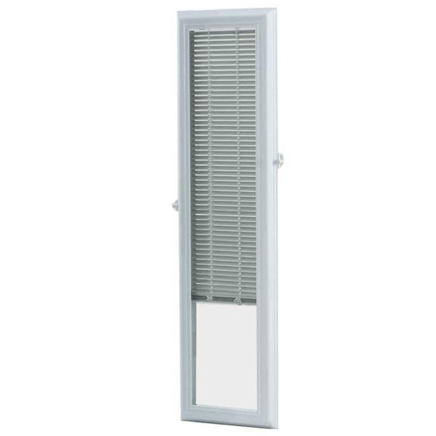 ODL 36-in L White Aluminum 0.59-in Slat Light Filtering Cordless Mini-Window Blinds