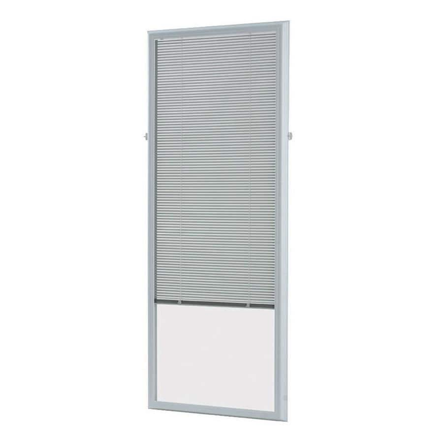 ODL 66-in L White Aluminum 0.59-in Slat Light Filtering Cordless Mini-Window Blinds