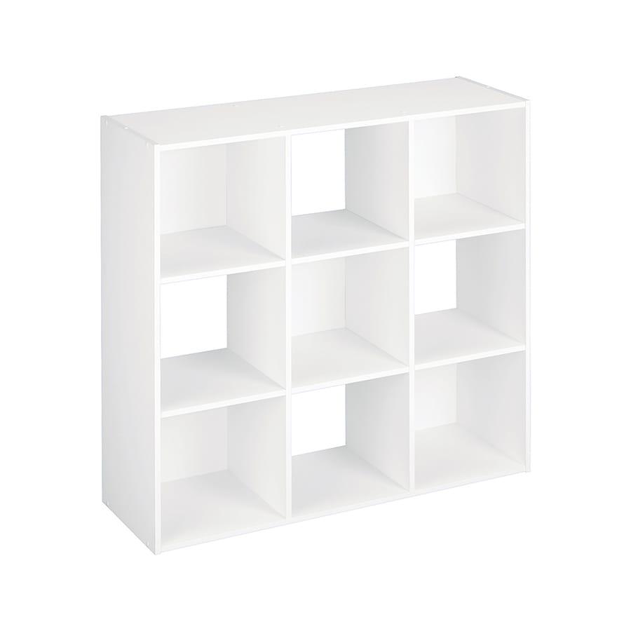 Shop ClosetMaid 9 White Laminate Storage Cubes At Lowescom