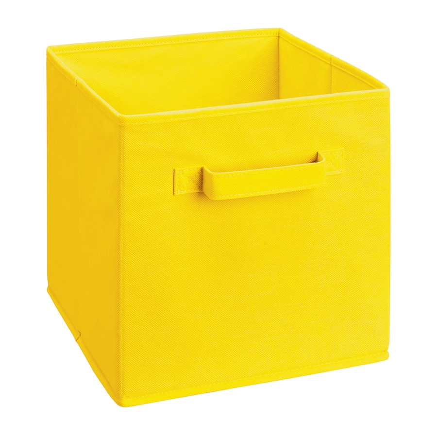 ClosetMaid 10.5-in x 11-in 1 Yellow Fabric Desktop Drawer