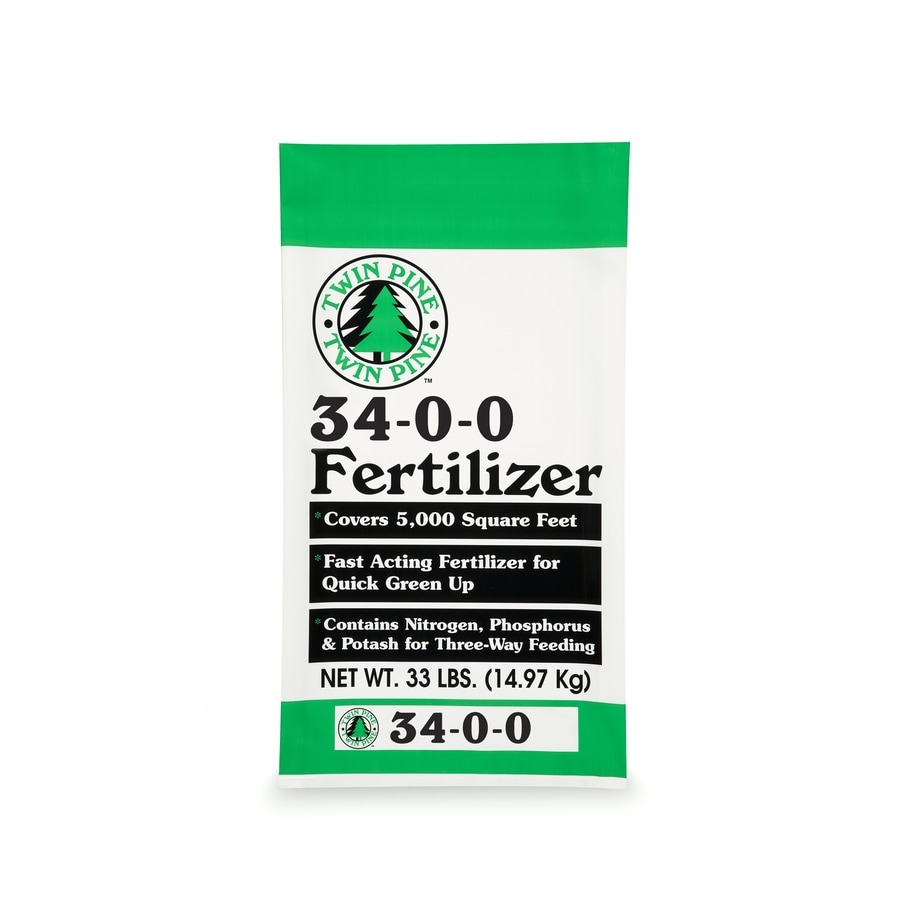 Twin Pine 5000-sq ft Spring/Summer Lawn Fertilizer (34-0-0)