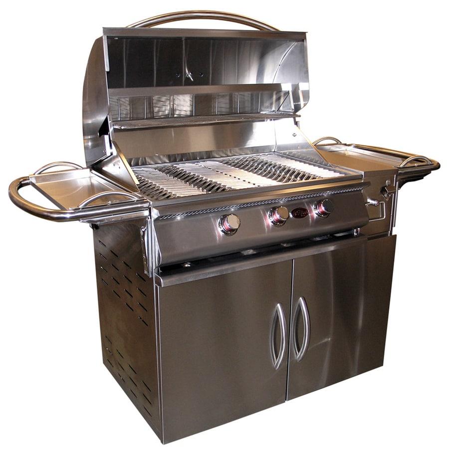Cal Flame Stainless Steel 3-Burner (45,000-BTU) Liquid Propane Infrared Burner Gas Grill