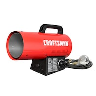 Craftsman 60000-btu Portable Forced Air Propane Heater Deals