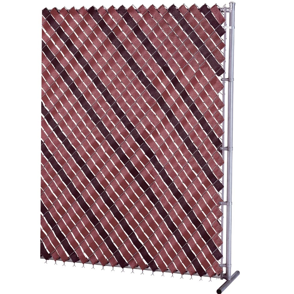 "Patrician Products 2"" x 250' Fence Weave - Redwood"