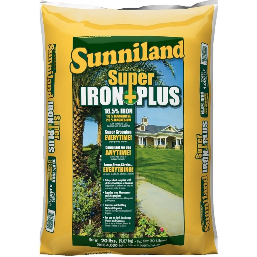 Sunniland 4,000-sq ft Super Iron Plus Organic or Natural Lawn Fertilizer