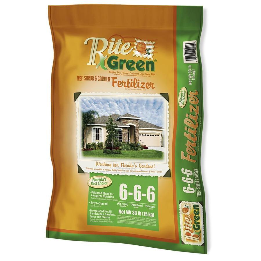 Rite Green 2,200-sq ft Organic or Natural Lawn Fertilizer (6-6-6)