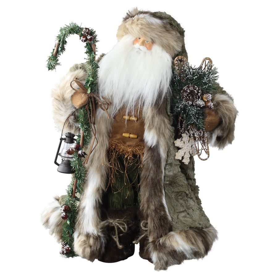Roman Christmas Resin Standing Santa Figure