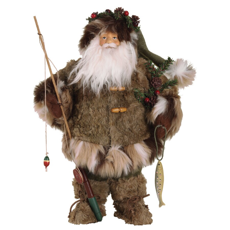 Roman Christmas Resin Santa Fisherman Figure