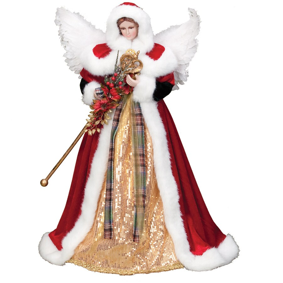 Roman 24-in Fabric Christmas Tree Topper