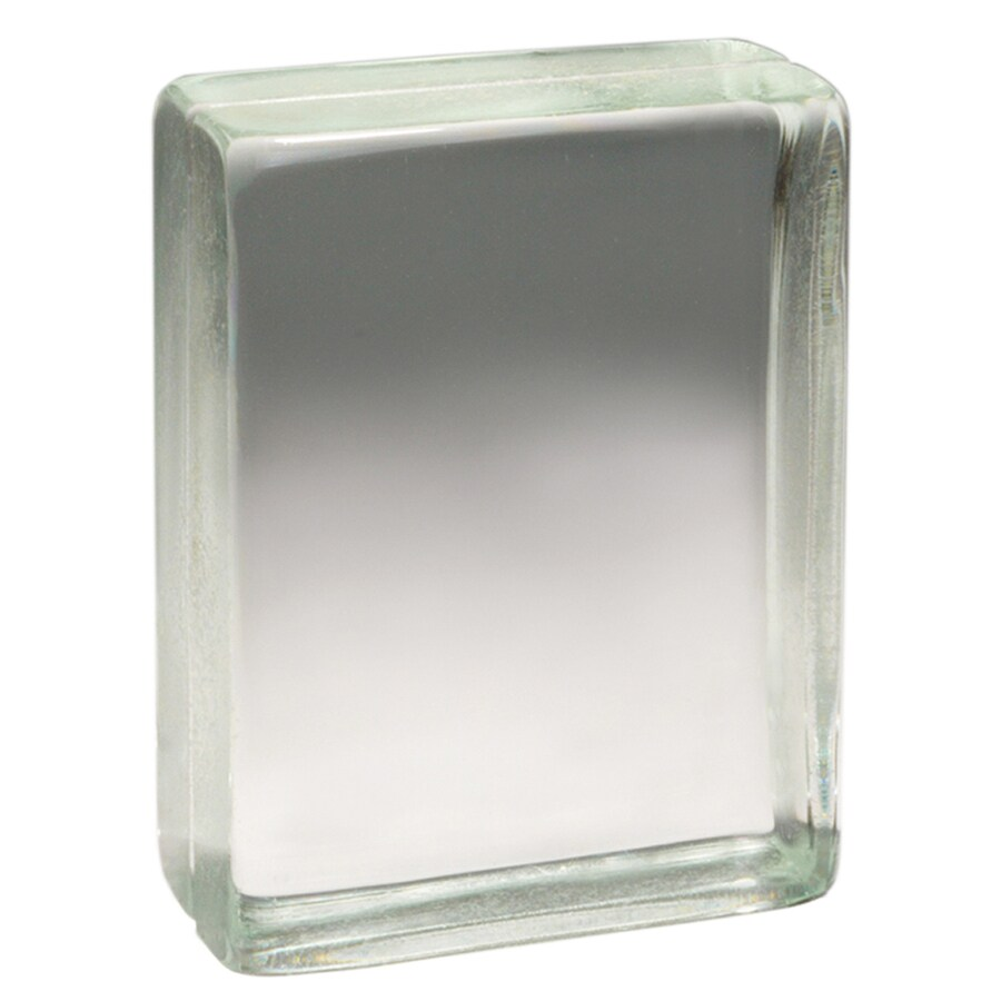 Pittsburgh Corning Vistabrik Pemiere 4-Pack Glass Blocks (Common: 8-in H x 6-in W x 3-in D; Actual: 7.62-in H x 5.62-in W x 3-in D)