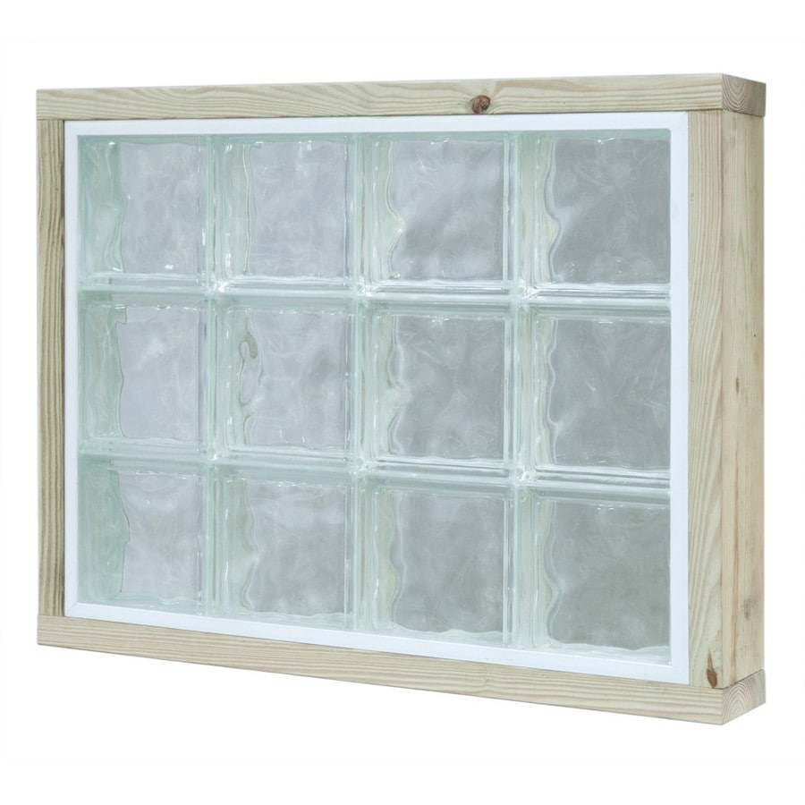 Shop pittsburgh corning lightwise hurricane resistant for Glass block window frame