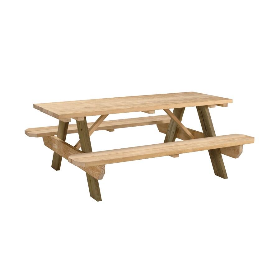 Garden Treasures 6' Picnic Table